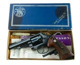 Smith & Wesson Pre Model 19 .357 Combat Magnum 1st Year FULLY OPTIONED & Complete Mfd. 1956 HOUSTON TEXAS SHIPPED ANIB