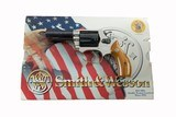 """Smith & Wesson Model 36-1 Original RARE Two Tone PINTO 3"""" Heavy Barrel 1 of only 75 Made in 1999 100% NEW IN BOX"""