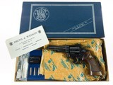 """Smith & Wesson Model 53 .22 JET 1st Year Special Order 4"""" AUXILIARY CYLINDER RR WO TH TT Factory Letter ANIB - 4 of 17"""
