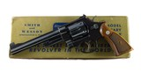 Smith & Wesson Pre Model 24 .44 Special Order Bright Blue Gold Box Tools Factory Letter Mfd. 1958 99%