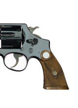 """AS NEW Smith & Wesson Pre War .38/44 Heavy Duty Mfd. 1932 Box Papers 5"""" Blued ANIB - 5 of 16"""