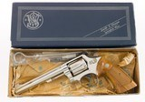 "ULTRA RARE NICKEL Smith & Wesson Model 48-2 K-22 Magnum 6"" Full Target TS TH TT 100% NEW IN BOX - 2 of 13"