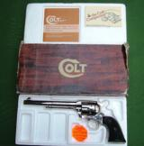 Colt Early 3rd Generation Nickel .44 Special Unturned/Unfired in Box 7 1/2 Inch - 8 of 13