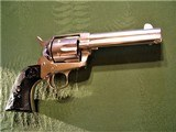 Stunning Colt Frontier Six Shooter Etched Panel 1887 SAA Single Action Army 44-40