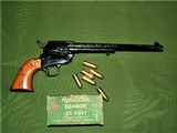 Engraved Colt Prototype Single Action Army 150th 1 of 1 Made 10 Inch Barrel - 10 of 12