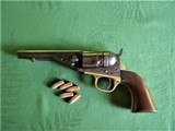 Scarce Colt 1862 Police Revolver with Fluted Cylinder and Ejector .38 Rimfire