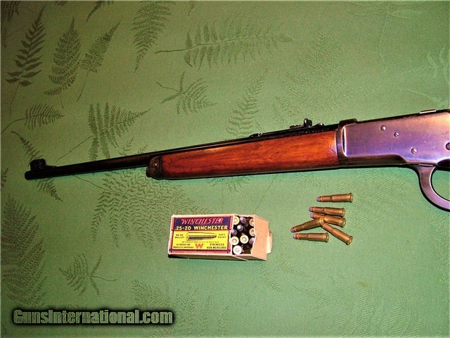 Winchester Model 65 in Scarce 25-20 WCF Made 1938 Less ...