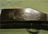 Engraved Special Order Marlin Model 31 C Grade Made 1916 Extra Select Wood 16 Gauge - 12 of 15