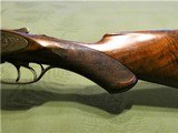 Scarce Engraved Meriden Firearms Grade 58 with Chain Damascus Barrels - 11 of 15