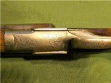 Scarce Engraved Meriden Firearms Grade 58 with Chain Damascus Barrels - 7 of 15