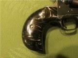 Scarce Engraved Colt SAA Bird's Head Grip .45 Single Action Army 4 Inch Barrel - 5 of 15