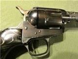 Scarce Engraved Colt SAA Bird's Head Grip .45 Single Action Army 4 Inch Barrel - 3 of 15