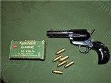 Scarce Engraved Colt SAA Bird's Head Grip .45 Single Action Army 4 Inch Barrel - 14 of 15