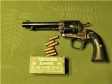 1 of 412 Colt Bisley .38 Long Colt with Factory Letter 1908 SAA Single Action Army