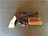Cased Master Engraved S&W 5 Screw M&P with Ivory Grips .38 Pre Model 10 - 15 of 15