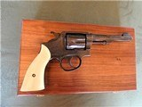 Cased Master Engraved S&W 5 Screw M&P with Ivory Grips .38 Pre Model 10 - 2 of 15