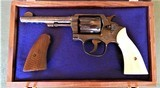 Cased Master Engraved S&W 5 Screw M&P with Ivory Grips .38 Pre Model 10 - 1 of 15