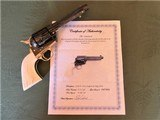 Cased Master Engraved Colt SAA 2nd Generation 1956 Ivory Grip .45 Single Action Army - 15 of 15
