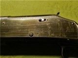 Scarce Engraved Pigeon Grade Winchester 1897 Cased 2 Barrel Set XXX Wood Black Diamond 97 - 11 of 15