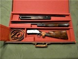 Scarce Engraved Pigeon Grade Winchester 1897 Cased 2 Barrel Set XXX Wood Black Diamond 97