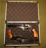 Cased Matched Pair S&W Schofield Performance Center .45 Smith and Wesson Gift to Investor - 3 of 15