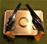 Cased Matched Pair S&W Schofield Performance Center .45 Smith and Wesson Gift to Investor - 1 of 15