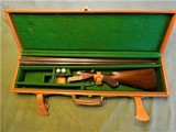 Cased and Engraved WC Scott 20 Bore Boxlock Ejector 5 1/4 Pounds 28 Inch Barrels Made 1911 - 1 of 15