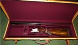 Special Order FN Browning Superposed Engraved by Baerten Grade D4 1968 Like Pointer Grade Game Scenes 100% Provenance