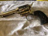 """COLT SAA 4.75"""" 45LC, Nickel with hard rubber grips"""