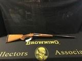 Browning .12g Magnum SXS