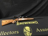 Browning A-Bolt .22 ~ (MUST SEE WOOD)