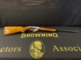 Browning Belgium Takedown .22 SHORT (RARE) - 1 of 15