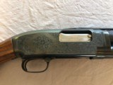"""Engraved Winchester Model 12 12ga 29"""" AAA wood EXC COND - 8 of 12"""