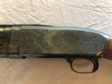 """Engraved Winchester Model 12 12ga 29"""" AAA wood EXC COND - 3 of 12"""