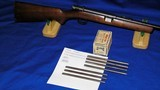 """Winchester Model 74 """"Gallery Gun"""" 22 Short * 1939 First Year+ * 500 Rounds of Factory Ammo * AND * six (6) loader tubes All, for o - 14 of 15"""