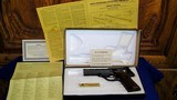 """High Standard Victor Military Auto Target Pistol .22 Long Rifle. 4 1/2""""inch, Steel Vent Rib - 16 of 16"""
