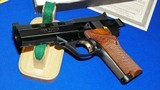 """High Standard Victor Military Auto Target Pistol .22 Long Rifle. 4 1/2""""inch, Steel Vent Rib - 15 of 16"""