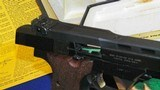 """High Standard Victor Military Auto Target Pistol .22 Long Rifle. 4 1/2""""inch, Steel Vent Rib - 13 of 16"""