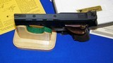 """High Standard Victor Military Auto Target Pistol .22 Long Rifle. 4 1/2""""inch, Steel Vent Rib - 9 of 16"""