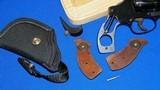 "Smith & Wesson Model of 1953 ""Kit Gun"".22LR.,A.K.A.= "" PRE "" Model 34,RARE 2"" Barrel. - 9 of 10"