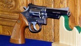 """Smith & Wesson Model 66-1,4""""inch .357 MagnumSerial #70K6214 was Made in1980. - 2 of 11"""