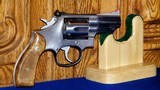 """Smith & Wesson Model 66-2,.357 Magnum2 1/2"""" Made 1984 - 1 of 11"""