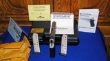 """Smith & Wesson Model 4513 Performance Center """"Shorty 45Only 662 Made! - 4 of 10"""