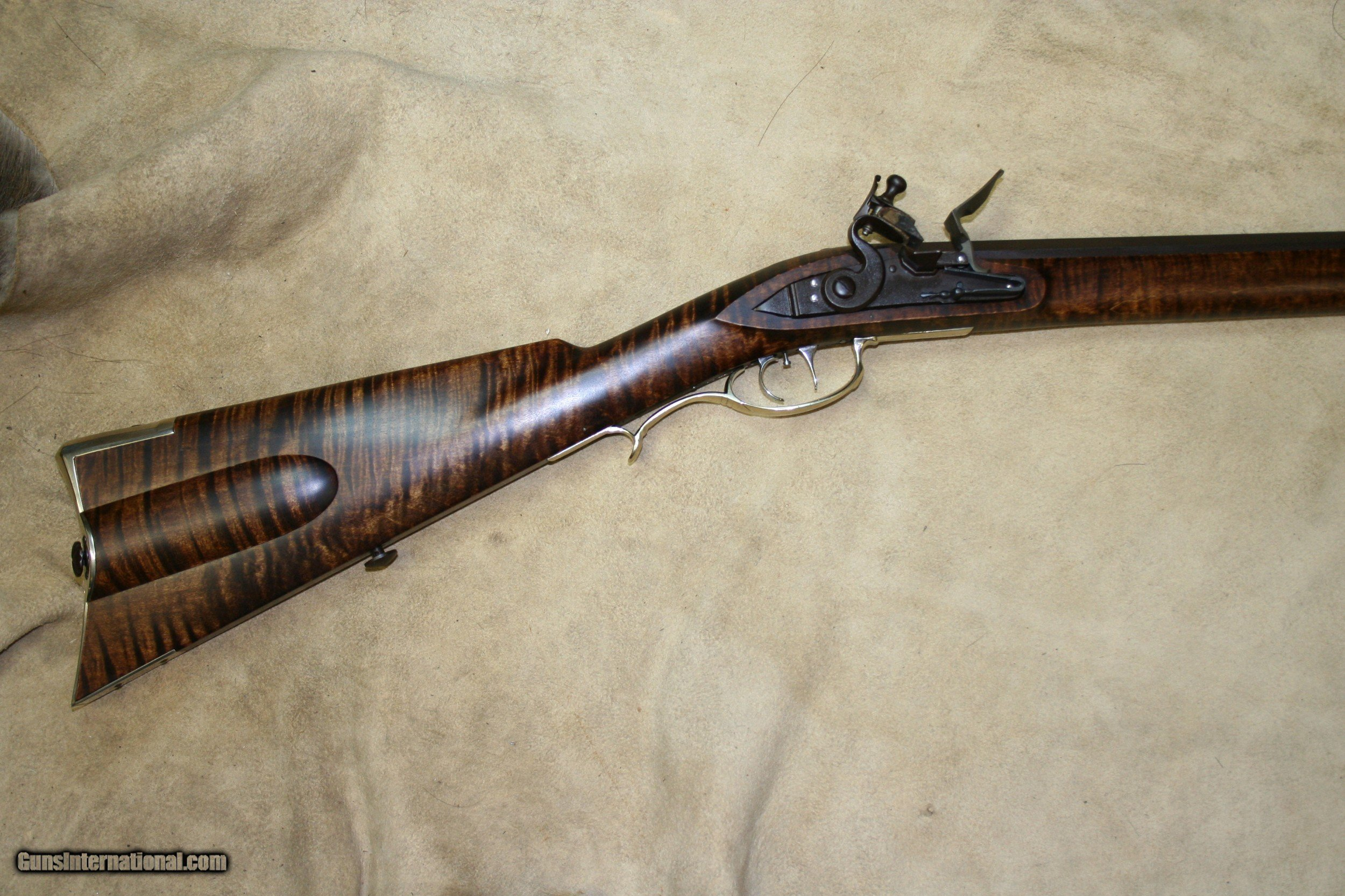 New Unfired 32 Cal Flintlock Virginia Style by M  Avance of TVM