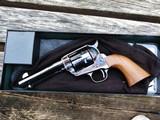 "USFA Pre-War .45 Colt 4 3/4"" NIB with 2 Cylinders All USA parts!"