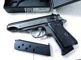 Walther PP .380 ACP NOS From 1981 Boxed & 2 Original Magazines Unfired