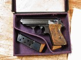 Walther PPK Reichsbank 7.65 mm Boxed With Original Fitted Box and 2 Matched Mags! Nice Original Condition!