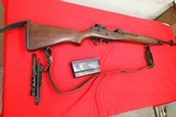 Springfield M1A Devine Texas Rifle Rt1 Box210 on Barrel All GI Parts Walnut Stock Minty