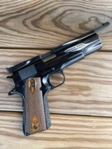 Colt 1911 Bullseye gun customized by Crawford of Pleasant Valley, NY