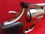 "*SOLD* Dan Wesson Arms Model 715 .357 Magnum 5"" barrel 6 shot DA/SA stainless steel revolver Hogue neoprene monogrip - 5 of 17"